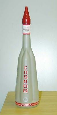 here you go SmallBlackRoom Cosmos Rocket Vodka. Fly me to the moon #vodka #packaging : ) PD