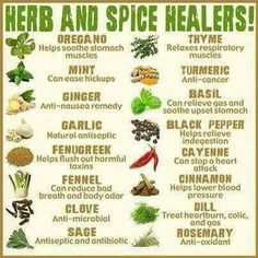 Herbs and Spice Healing