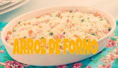 PALOMA QUEIROZ: Culinária Arroz de Forno