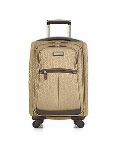 "Calvin Klein Nolita 2.0 20\"" Carry On Spinner Suitcase"