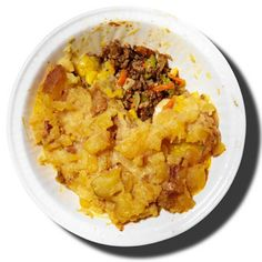 Shepherd's Pie - Fitnessmagazine.com - just sub veggie crumbles for the beef to make a veg version...