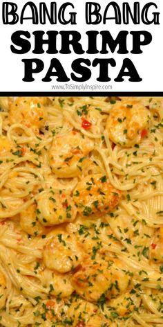 Cooked Shrimp Recipes, Best Shrimp Recipes, Creamy Pasta Recipes, Shrimp Recipes For Dinner, Seafood Dinner, Fish Recipes, Seafood Recipes, Cooking Recipes, Easy Shrimp Pasta Recipes