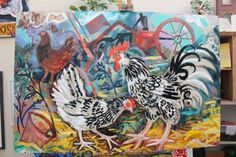 York Open Studios: 17,18 & 19 April and 25 & 26 April 2015. Artists opening their homes and studios to the public, include York artists Mark Hearld and Emily Sutton (Image: Collage by Mark Hearld)