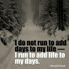 Runspiration - inspiration to run. Motivation. Cool sayings.
