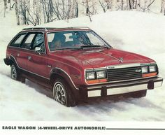 1980-86 AMC Eagle Station Wagon 4x4 6 cyl 4.2. First Taos four wheel drive and this color... Went everywhere I wanted it to go until I got a Land Rover! Ric Tredwin