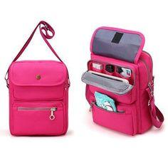 Women Nylon Travel Passport Bag Crossbody Travel Bag Useful Shoulder Bag is Worth Buying - NewChic Mobile.