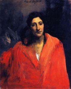 Gitana (John Singer Sargent - ) Metropolitan Museum of Art, circa 1879