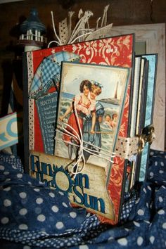 Mini Album By the Sea... Graphic 45