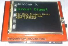 Interfacing TFT LCD with Arduino                                                                                                                                                                                 More