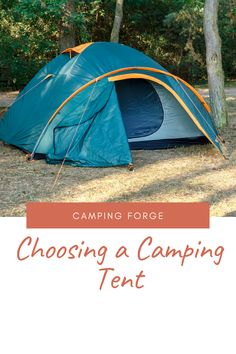Tents come in all shapes and sizes. If you're car camping, a dome-shaped tent might be best to give more room and comfort. However if backpacking is your thing, then an ultralight 2-person tent will work better (and save weight). We've got you covered with what to look for when buying a tent! Diy Camping, Camping With Kids, Tent Camping, Camping Gear, Outdoor Camping, Outdoor Gear, Camping Hacks, Best Backpacking Tent, 2 Person Tent