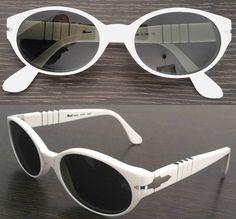 Persol White 2520-S NEW designer Sunglasses VINTAGE 1990 Model Gafas de sol Sonnenbrille. Occhiali da sole