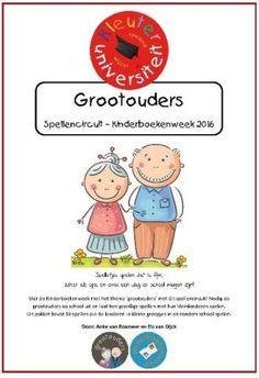 Grootouders spellencircuit opa en oma Kinderboekenweek