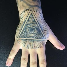 30 Mysterious Illuminati Tattoo Designs - Enlighten Yourself