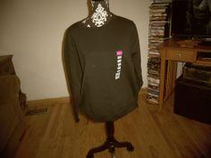 Gildan Ladies'  Heavy Blend™ 50/50 Fleece Crew Black #Fashion #Style #Deal