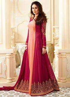 ✓ Buy the latest designer Anarkali suits at Lashkaraa, with a variety of long Anarkali suits, party wear & Anarkali dresses! Long Anarkali, Anarkali Dress, Anarkali Suits, Pakistani Dresses, Indian Dresses, Indian Outfits, Lehenga Saree, Designer Salwar Suits, Designer Anarkali