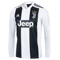 5b9730ff456 Juventus 18 19 Home Men Long Sleeve Soccer Jersey Personalized Name an –  zorrojersey Numbers