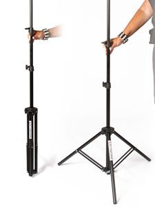 Denny EZ Stand light stands portable and perfect for on location photography