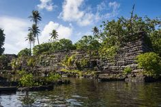 Ruined city of Nan Madol, Pohnpei (Ponape), Federated States of Micronesia, Caroline Islands, Centra - Robertharding/Shutterstock/Rex Images Places To Travel, Places To See, Law Of The Jungle, Ruined City, Federated States Of Micronesia, Mysterious Places, Beautiful Islands, World Heritage Sites, Wonders Of The World