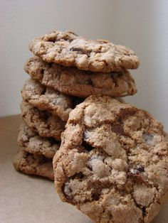 Heavenly Nutella Oatmeal cookies.