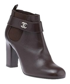 Chanel Leather Ankle Size 39.5 (31814) Brown Boots. Get the must-have boots of this season! These Chanel Leather Ankle Size 39.5 (31814) Brown Boots are a top 10 member favorite on Tradesy. Save on yours before they're sold out!