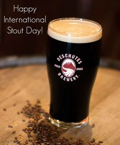 Enjoy an Obsidian Stout or The Abyss today to celebrate International Stout Day!