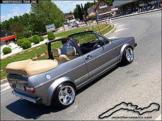 VW Golf Mk1 Convertible
