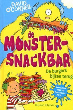 Fuzzby en Joep beleven met hun monstersnackbar allerlei avonturen op de monsterkermis. Vanaf ca. 7 jaar.