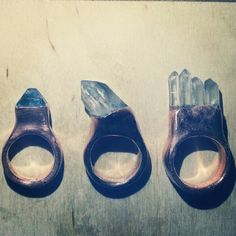 #electroforming #crystals #jewelry #ring #fluorite #quartz #healingcrystals #crystaljewelry