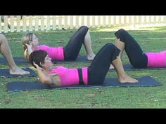 Pilates Classic moves - Full 40 minute workout by eFit30 on youtube