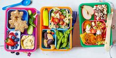 Bin the soggy sandwiches and get inspired with our healthy, speedy and scrumptious school packed lunch ideas.