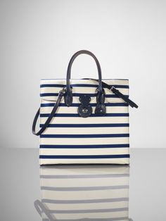 41a383829b Nautical Canvas Ricky Tote - Ralph Lauren Ralph Lauren Handbags -  RalphLauren.com Ralph Lauren