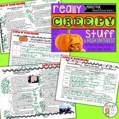 Close Reading Halloween