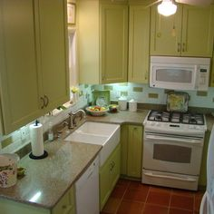 Small Kitchen Layouts Design Ideas, Pictures, Remodel, and Decor