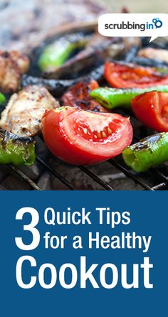 Looking for some Healthy Fourth of July recipes? Check out these quick healthy grilling tips. | http://Scrubbing.in