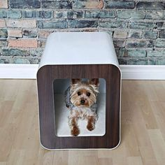 Zenhaus Dog Crate Bed Doubles As An End Table Or Night Stand Door Is Removable Products I Love Pinterest Dogs And Pets