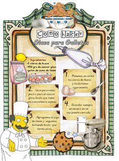Tartas, Galletas Decoradas y Cupcakes: GLASA PARA GALLETAS