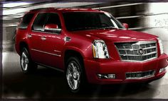 Candy apple-red Escalade red