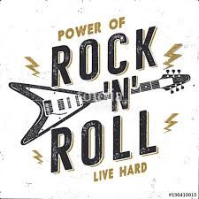 Image Result For Retro Rock Font Music Poster Vintage Typography Poster Rock Music