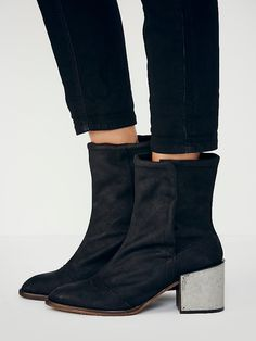 Free People Warddell Ankle Boot at Free People Clothing Boutique