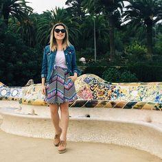 Park Güell, visitei inteiro e ainda não sei pronunciar direito #travel #barcelona