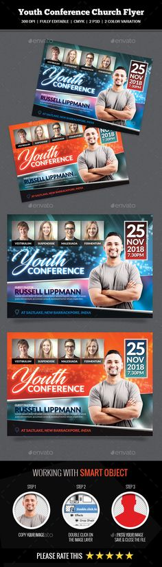 Church Event or Conference Flyer Flyer template, Churches and - conference flyer template