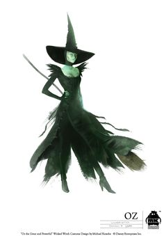 Disney Concept Art - Theodora (Oz the Great and Powerful)