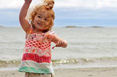 Nähen für Anfänger – Kinderkleidung für die kleine Prinzessin selber machen