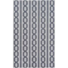 Lockhart Blue and Gray Rectangular: 5 Ft x 7 Ft 6 In Rug by Alexander Wyly - (In Rectangular)