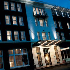 The Alluvian - an amazing hotel in the Mississippi Delta.