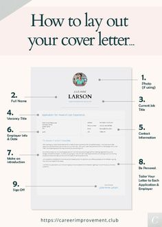 How TO Lay Out Your Cover Letter - Portfolio - When applying for jobs don't neglect a well designed and correct Cover Letter. Resume Help, Resume Tips, Resume Examples, Free Resume, Resume Fonts, Cv Tips, Resume Ideas, Resume Cv, Job Cover Letter