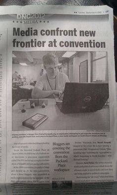 One of our very talented Stampers, Charles, making headlines!