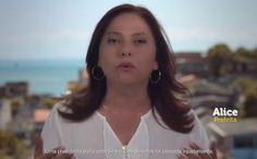 Alice Portugal (PCdoB) defende Dilma Rousseff na TV (ReproduçãoVEJA) - VEJA.com