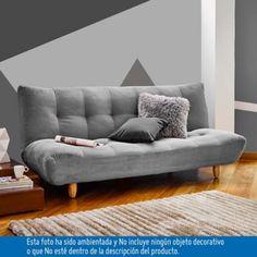 SOFACAMA LISBOA GRIS 188x95x90cm-Homecenter.com.co
