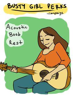 Strikes a chord..... haha. Sometimes feels awkward.